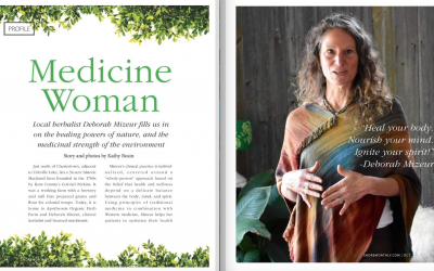 """011 — Wellness and Resilience for 2018: Insights from a """"Modern Medicine Woman,"""" Deborah Mizeur"""
